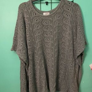 Avenue Size 22/24 Sweater Poncho